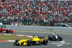 Giorgio Pantano y David Coulthard