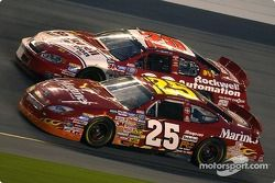 Bobby Hamilton Jr. and Mike Bliss