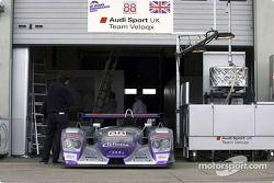 Le stand Audi Sport UK Team Veloqx