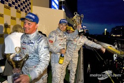 Podium : Johnny Herbert et Pierre Kaffer