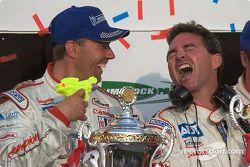 P1 podium: JJ Lehto