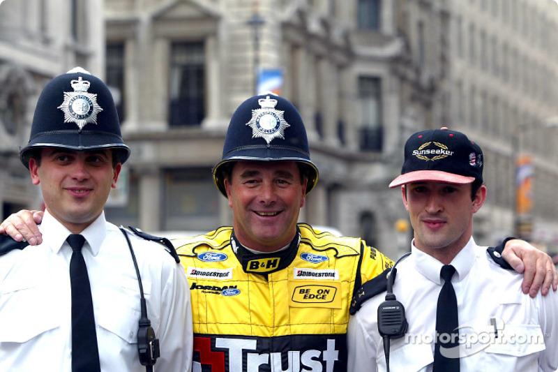 Найджелл Мэнселл и полиция Лондона