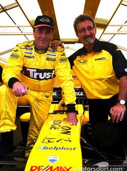 Nigel Mansell y Eddie Jordan