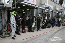 Guy Smith et l'équipe Audi Sport UK Team Veloqx sont prêts pour le prochain arrêt
