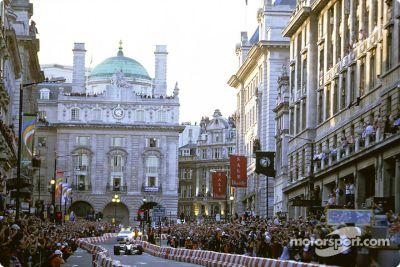 Parade F1 à Regent Street