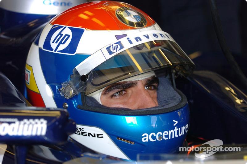 2004 год. Марк Жене. 2 гонки в Williams