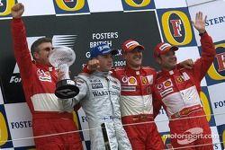 Podium: 1. Michael Schumacher, 2. Kimi Räikkönen, 3. Rubens Barrichello