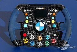 Williams-BMW steering wheel