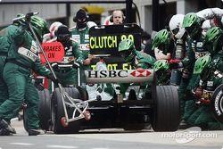 Pitstop for Mark Webber