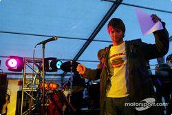 Jordan party: pop star Brian McFaddden