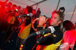 Jordan party: Nick Heidfeld