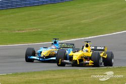Giorgio Pantano and Fernando Alonso