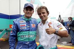 Giancarlo Fisichella et Felipe Massa