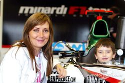 A guest at Minardi