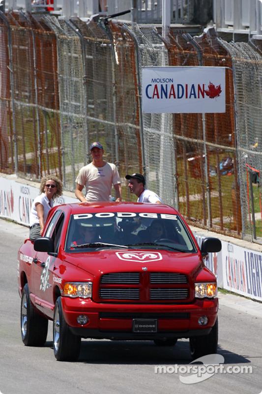 Parade des pilotes : Ryan Hunter-Reay