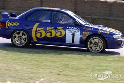 Alister McRae dans une Subaru de 1995