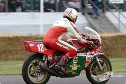 David Hailwood sur une Ducati de 1978