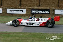 Emerson Fittipaldi dans une Penske de 1994