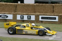 Jean Ragnotti dans une Renault de 1977