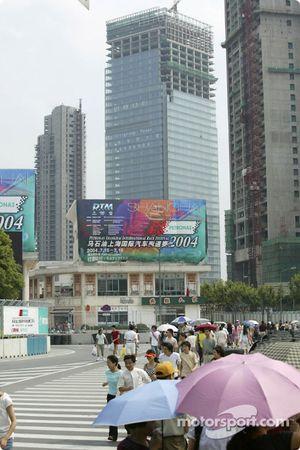 Le paysage de Shanghaï