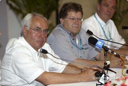 ITR-Boss Hans Werner Aufrecht; Mercedes-Sportchef Norbert Haug; Audi-Sportchef Wolfgang Ullrich