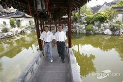 Christian Abt und Rinaldo Capello im Yu Garden