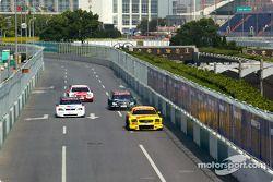 Peter Terting, Team Abt Sportsline, Abt-Audi TT-R 2003; Jeroen Bleekemolen, OPC Euroteam, Opel Astra V8 Coupé 2003; Gary Paffett, Team HWA, AMG-Mercedes C-Klasse 2004; Timo Scheider, OPC Team Holzer, Opel Vectra GTS V8 2004