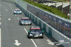Gary Paffett, Team HWA, AMG-Mercedes C-Klasse 2004; Christijan Albers, Team HWA, AMG-Mercedes C-Klas