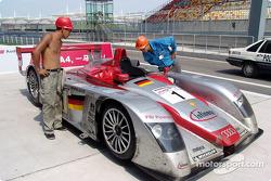 Audi R8 am Shanghai International Circuit
