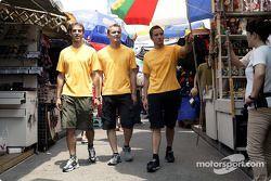 Jeroen Bleekemolen, OPC Euroteam, Opel Astra V8 Coupé 2003; Marcel Fässler, OPC Team Phoenix, Opel V