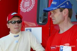 Timo Rautiainen and Marcus Gronholm