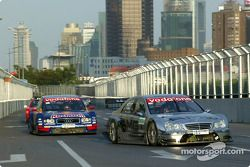 Jean Alesi, Team HWA, AMG-Mercedes C-Klasse 2004; Mattias Ekström, Team Abt Sportsline, Audi A4 DTM