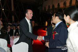Gala DTM à l'Oriental Pearl Tower : Dr Wolfgang Ullrich