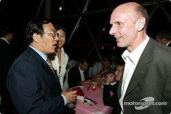 Gala DTM à l'Oriental Pearl Tower : Volker Strycek