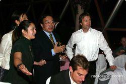 Gala DTM à l'Oriental Pearl Tower : Heinz-Harald Frentzen