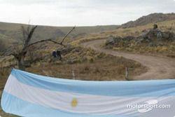 Un drapeau argentin
