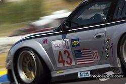#43 BAM! Porsche 911 GT3 RSR: Leo Hidery, Lucas Luhr