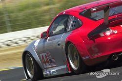 #44 Flying Lizard Motorsports Porsche 911 GT3RSR: Lonnie Pechnik, Seth Neiman