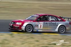 JJ Lehto gives a lucky fan a hot lap around Infineon Raceway