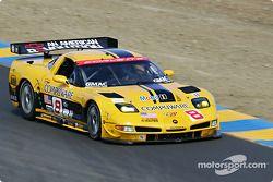 #8 Corvette Racing Corvette C5-R: Boris Said, Dale Earnhardt, Jr.