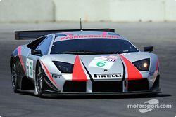 La Lamborghini Murcielago R-GT n°6 du Krohn Barbour Racing (Tracy Krohn, Dave McEntee)