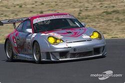 #45 Flying Lizard Motorsports Porsche 911 GT3RSR: Johannes van Overbeek, Darren Law