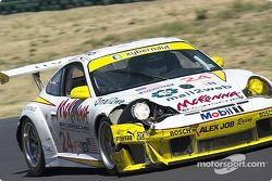 #24 Alex Job Racing Porsche 911 GT3RSR: Romain Dumas, Marc Lieb