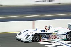 JJ Lehto takes the win in the #38 Team ADT Champion Racing Audi R8
