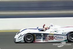#38 Team ADT Champion Racing Audi R8: JJ Lehto, Marco Werner takes the checkered flag