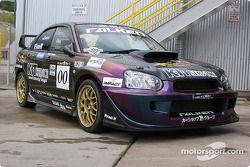 Robby Unser's co-winning Subaru WRX Impreza