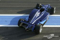 La nouvelle Dallara-Renault de GP2 Series