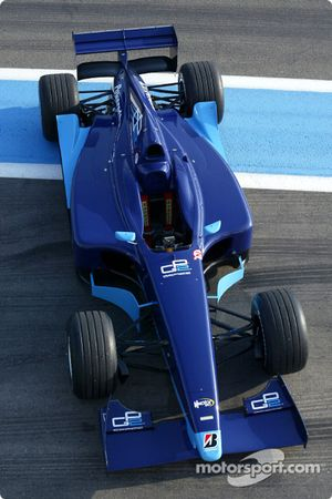 The new Dallara-Renault GP2 Series car