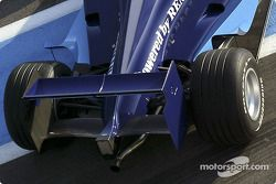 Detail of the new Dallara-Renault GP2 Series car