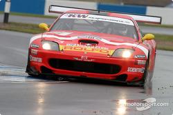 #3 Care Racing Ferrari 550 Maranello: Enzo Calderari, Stefano Livio, Lilian Bryner